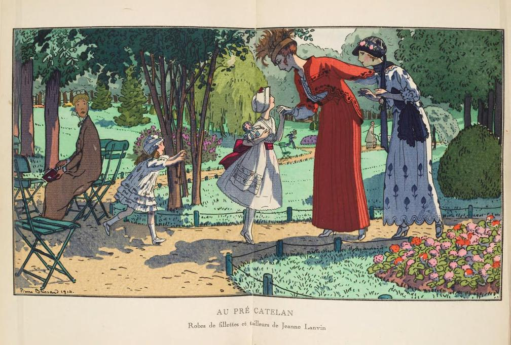 Au Pre Catelan, 1914