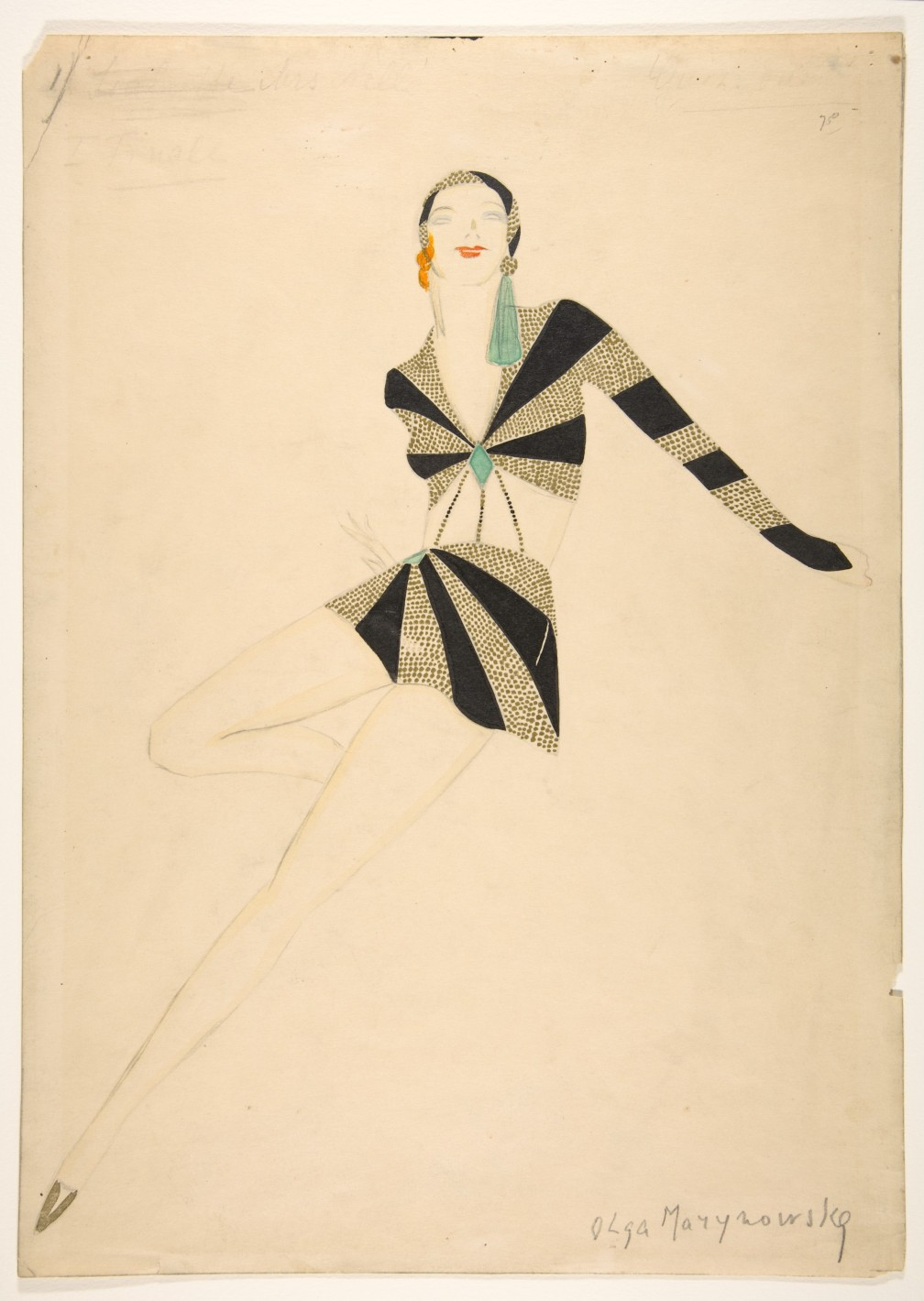 1930's fashion design